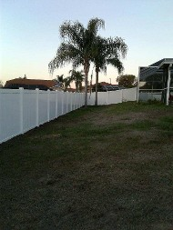 Fence in Neighorhood